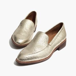 Madewell - Frances Loafer in Metallic Crackle